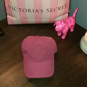 New Pink Victoria's Secret Baseball Cap